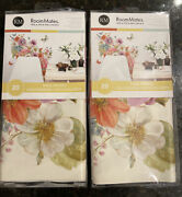 Roommates Flowers Peel And Stick Wall Decals 29 Prices 2 Sets 40 Total Decals