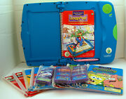 Leap Frog Leap Pad Learning System, 11 Books, 11 Cartridges. Grades 2 And 3.