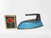 Antique Toy Ussr Children's Iron, An Old Russian Wonderful Game For Kids