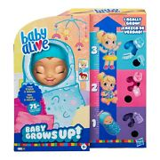 Baby Alive Baby Grows Up Growing And Talking Baby Doll With Accessories