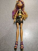 Holloway Monster High Doll Clawdeen Wolf 13 Wishes