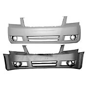 Cpp Front Bumper Cover For 2008-2010 Dodge Grand Caravan
