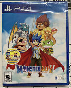 Monster Boy And The Cursed Kingdom Sony Playstation 4 Factory Sealed
