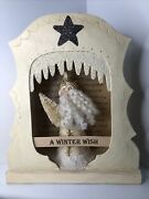 Nicol Sayre A Winter Wish Belsnickle Santa Claus Christmas 2004 14.5x12x4.5