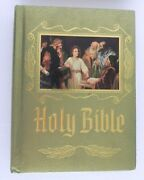 Holy Bible New American Bible Catholic Heirloom Red Letter 1984-1985 Edition