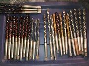 Wholesale Lot 27 Taper Drill Bits Cleforge Atd 3/8 And 5/16 New