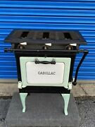 1920and039s Antique Vintage 3 Burner Gas Stove Cadillac