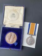 Wwi Medal Ranb Australia Navy Stoker Colley Hmas Una And His 1910 Schumacher Medal
