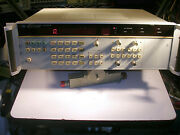 Hp Agilent 5335a Universal Counter 200 Mhz Gpib Opt 10 And 40