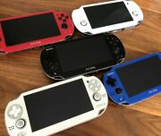 Sony Ps Vita Wi-fi Oled Console Pch-1000 Various Color Japan Import / From Usa