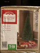 New Holiday Time 6 Foot Non Lit Wesley Pine Artificial Christmas Tree Easy Setup