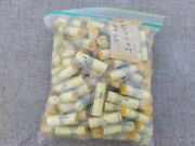 Vintage Large Capacitor Lot Yellow 200vdc