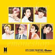 Pre-order Bts Cubic Painting Package [ Butter Ver. ] Official Md Via Fedex Dhl