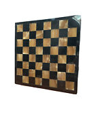 Chess Set Antique Obsidienne And Marble