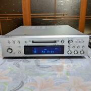 Onkyo Md-133 Hi-md Mini Disc Recorder Silver High Speed Mdlp Silver Tested