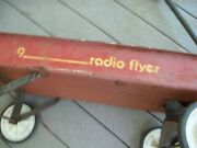 Vintage Used Radio Flyer 9 All American Classic Red Wagon