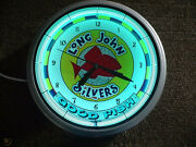 Long John Silvers Neon Clock Not Sure What It Is Worth Brand New It Is 500