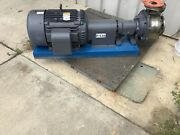 Goulds G And L Pumps Model Sst. 3 X 4-8 30 Hp 3 Ph
