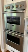 Viking 27 Double Electric Wall Oven Stainless Steel - Chicago Area Pick-up