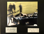 Governor John And Nellie Connally, Clint Hill Signed Kennedy Jfk Assassination Coa