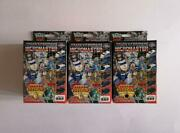 Transformer Micromaster Six Train Red Color 3 Types Set
