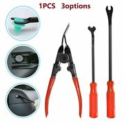 Car Trim Clip Upholstery Removal Pry Tool Door Panel Fastener Pin Pliers-puller