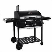 Royal Gourmet Cd2030an 30-inch Charcoal Grill Deluxe Bbq Smoker Picnic Camping