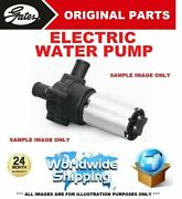 Gates Electric Water Pump For Bmw 2 Coupe F22 F87 228 I 2014-on