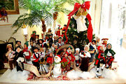 Huge Lot Of 45 Byers' Choice Carolers. Be Ready For Christmas