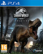 Jurassic World Evolution Ps4 Playstation 4 Sold Out Publishing