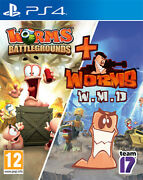 Worms Battlegrounds + Worms Wmd Ps4 Playstation 4 Sold Out Publishing