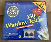 Ge 150 Light 4 - 50 Ct Sealed Holiday Set Christmas Decor Indoor Outdoor New Lot