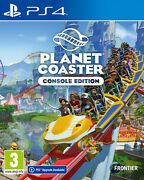 Planet Coaster Ps4 Playstation 4 Sold Out Publishing