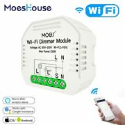 Smart Wifi Light Led Dimmer 1/2 Way Switch Life/tuya App Remote Control Works