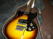 Gibson Melody Maker Sunburst 1961 Vintage Usa Double Cut With Gator Case
