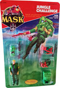 M.a.s.k. Mask Kenner - Jungle Challenge Vintage 1986 - Collectible Mosc Afa It