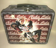 Fallout Nuka Cola World Space Girl Lunch Box Funko Fanwares Collector Tin Toy