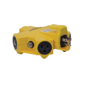 Coleman Cable 997362 Outlet Adapter 125 V 15 A 5 Outlet.