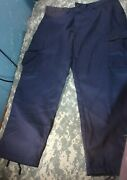 Midnight Blue Bdu Cargo Combat Tactical Combat Pants Size Xl Thick Cold Wether