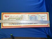 San Diego Trolley System Route Metal Sign 10x32