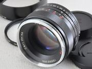 Carl Zeiss Planar T 50mm F1.4 Zs M42 [excellent] From Japan 20203