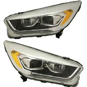 Pair Set Of 2 Hid Headlights Lamps Left-and-right Hid/xenon Lh And Rh For Escape