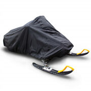 Trailerable Skiing Mobile Snowmobile Cover Sled Cover Storage Water Resistant