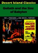 Goliath And The Sins Of Babylonnew Dvd Gemma Giuliano Forest Mark