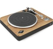House Of Marley Vinyl Record Player Wireless Turntable Bluetooth Connectivity