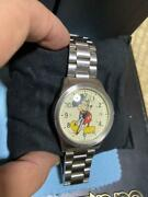 Jam Home Made Automatic Menand039s Watch Mickey Mouse Out Of Print