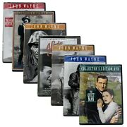 John Wayne Collection 7 Dvd Lot - Sands Of Iwo Jima And More - New Sealed