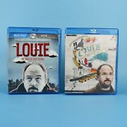 Louie Season 1 + 2 Blu-ray Lot The Complete First Second One Two Louis C.k. Fx