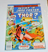 What If 10 1st Jane Foster As Thor Vf 10 Marvel 1978 High Grade Comic Book Lot