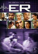 Er Complete Fifth Season 6pc Ws New Dvd